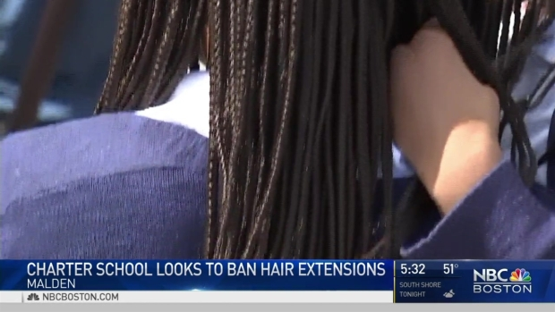 [NECN] Charter School Looks to Ban Hair Extensions