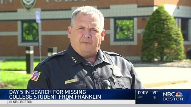 [NECN] Student Remains Missing After Days of Searching