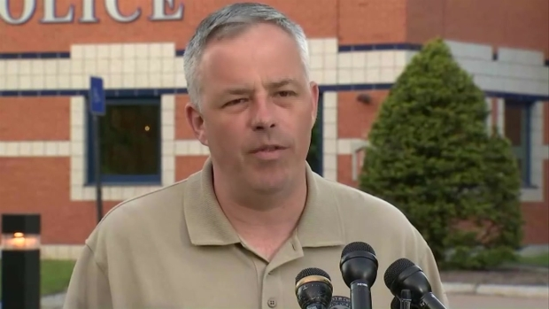 [NECN] Franklin Police Chief Holds Press Conference