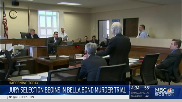 [NECN] Jury Selection Beginning in Bella Bond Killing Trial