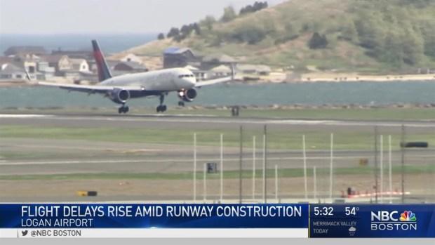 [NECN] Expect Delays at Logan Airport
