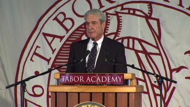 [NECN] Former FBI Director Robert Mueller Gives Commencement Address