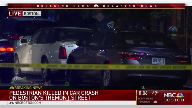 [NECN] Pedestrian Killed in Crash on Boston's Tremont Street