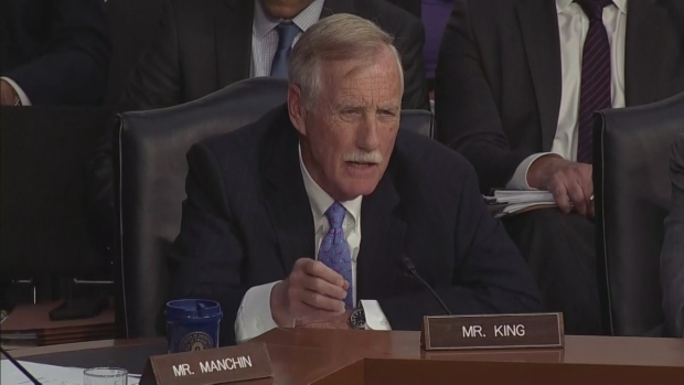 [NECN]Sen. Angus King's Heated Exchange With Intelligence Officials
