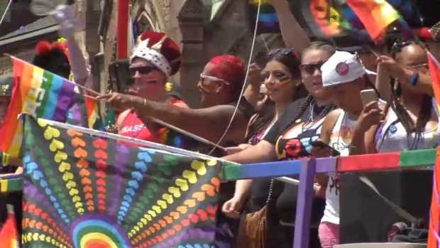 [NECN] Boston Pride Parade 2017