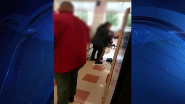 [NECN] Market Basket Brawl Caught on Cell Phone