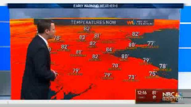 [NECN] Weather Forecast: Mostly Cloudy, Chance of Showers