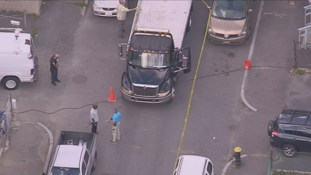 [NECN] Sky Ranger Over Scene of Shooting in Dorchester