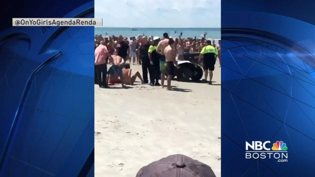 Four Arrested for Acting Inappropriately at Mayflower Beach