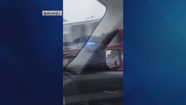 [NECN] 1 Killed in Crash With Tractor Trailer