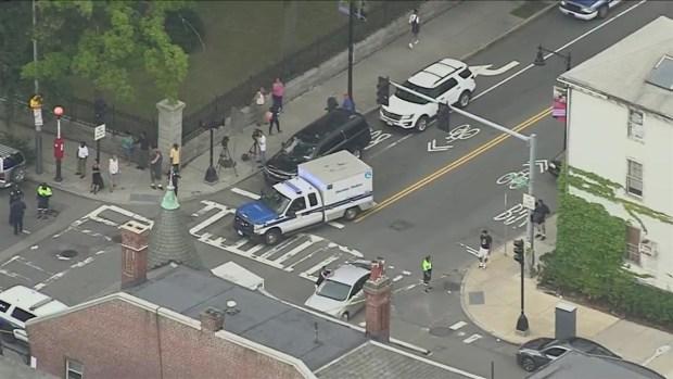 [NECN] Police Investigate Shooting at Boston Hardware Store