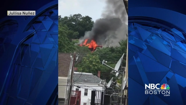 [NECN] Viewer Video: Fire Breaks Out in Lawrence, Massachusetts