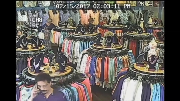 [NECN] Surveillance Video Shows Man Accused of Upskirting Girl