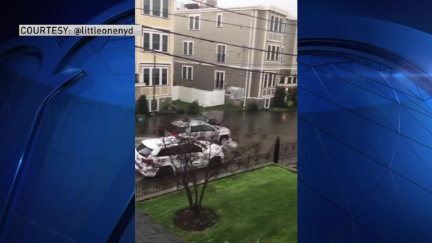 [NECN] Flooding in Dorchester