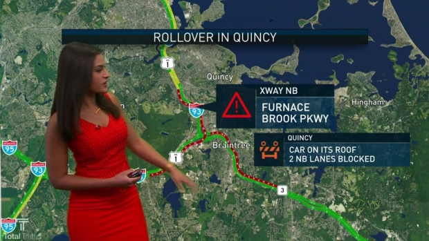 Fatal Wrong-Way Crash Causes Major Delays on I-495 - NECN