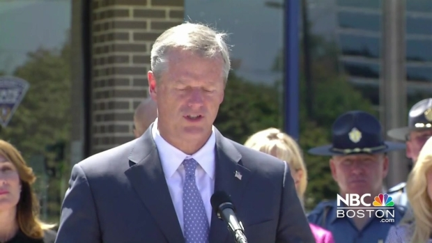 [NECN] 'Keep the Groups Separated': Baker Talks Free Speech Rally