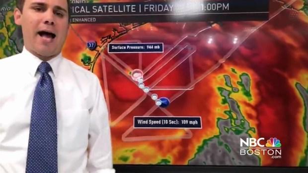 [NECN] Chris Gloninger Talks Hurricane Harvey