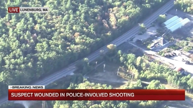 [NECN] Officer-Involved Shooting Investigated in Lunenburg