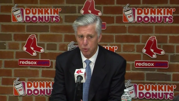 [NECN] Red Sox' Dave Dombrowski Speaks on Departure of John Farrell