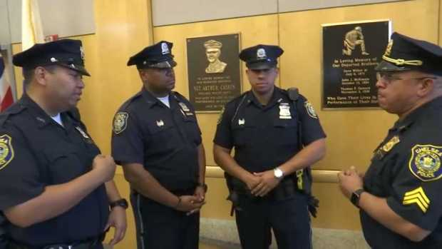 [NECN] Police Chiefs Question Why Their Puerto Rico Mission Was Cut Short