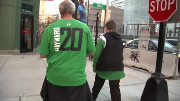 Celtics Fans Missing Hayward at Home Opener
