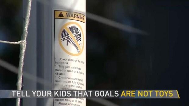 [NECN] Soccer Goal Safety Tips