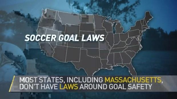 [NECN] Unsecured Soccer Goals Pose Danger For Children