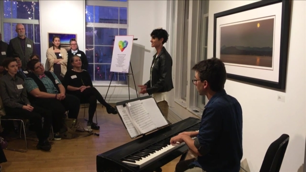 Broadway Star Performs at Burlington, VT Benefit for Charity