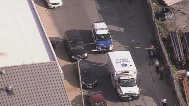 [NECN] Bicyclist Struck by Vehicle in Boston