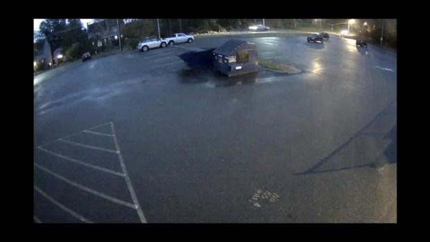 [NECN]Surveillance Video Used to ID Shrewsbury Hit-and-Run Vehicle