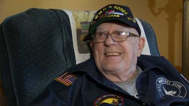 [NECN] Retired Navy Man Reunited With Dog Tags Missing for 70 Years