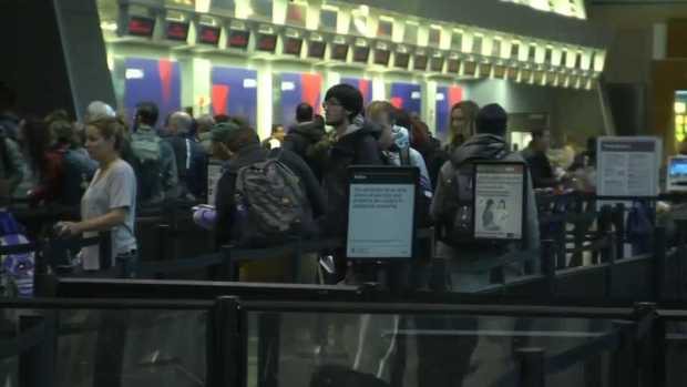 [NECN] Travelers Flock to Logan Airport for Thanksgiving