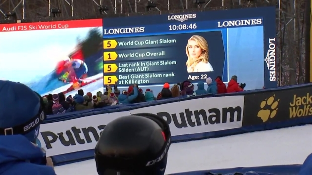 [NECN] All Eyes on Mikaela Shiffrin as Thousands Attend World Cup Ski Racing in Vermont