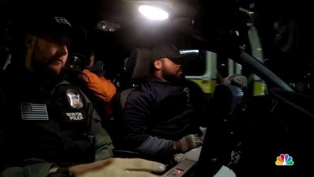 [NECN] Riding Along With the BPD Gang Unit