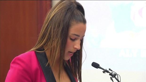 [NECN] Aly Raisman Gives Impact Statement at Nassar Sentencing