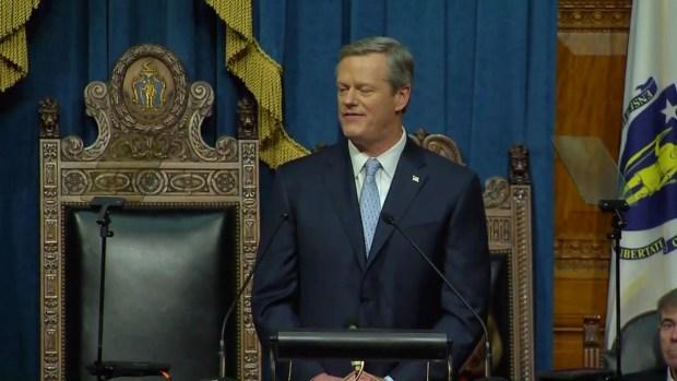 [NECN] Mass. Gov. Charlie Baker Addresses State's Thriving Economy