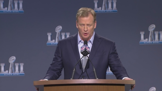 [NECN] Roger Goodell Praises the Patriots