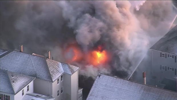 [NECN] Fall River Hardware Store Destroyed in Fire
