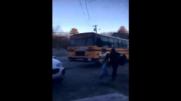 [NECN] Tyngsborough Bus Driver OUI