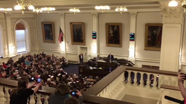 [NECN] Cheers as NH House Prohibits Transgender Discrimination
