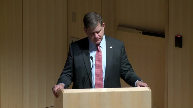Mayor Walsh: 'Boston Has a Light That Can Never Be Put Out'
