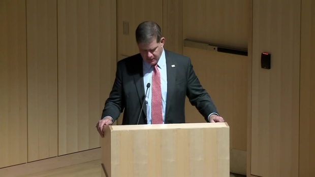 Mayor Walsh: 'Today is for Everyone We Lost'