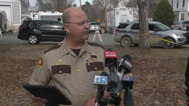 [NECN]Sheriff Speaks on Manhunt for Suspect in Deputy's Murder as Search Continues Into Day 3