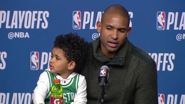 [NECN] Al Horford: Celtics Understand Challenges 76ers Present
