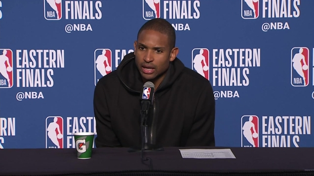 [NECN] 'It's Hard to Win on the Road': Al Horford Addresses Two Straight Losses