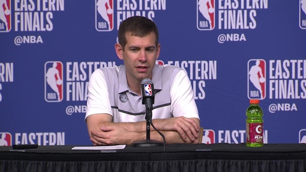 [NECN] Brad Stevens: 'We Still Have to Beat Cleveland One More Time'