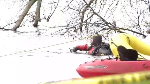 [NECN] Dive Teams Search Mass. Pond for Missing Kayaker