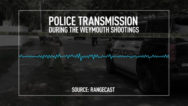 [NECN]  Police Transmission From Weymouth Shootings