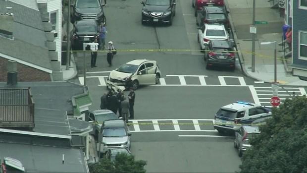 [NECN] RAW VIDEO: Pedestrians Struck in South Boston