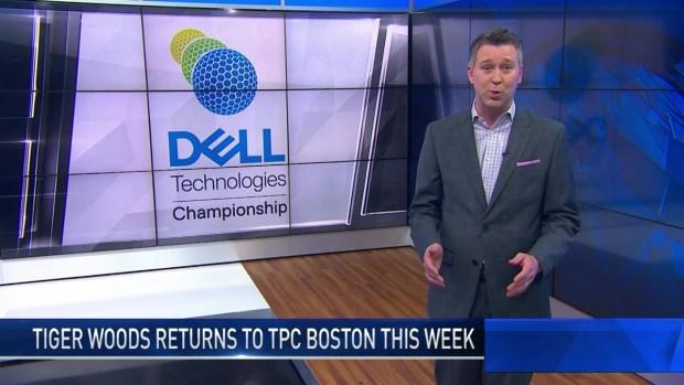 [NECN] Tiger's Chances for Winning TPC Boston